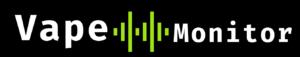 Vape Monitor Logo Blk
